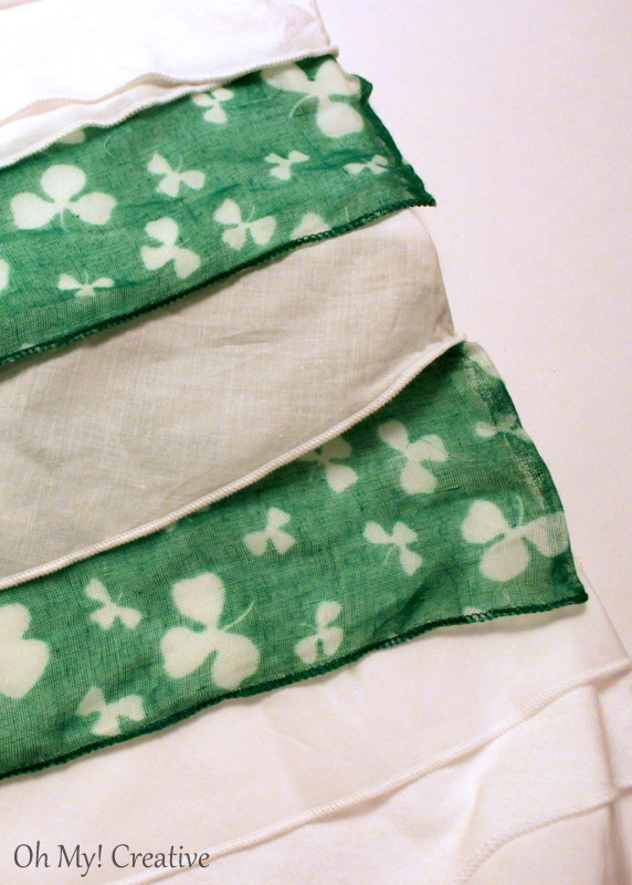 Diy St. Patrick's Day Shamrock T-shirt
