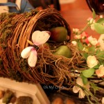 Natural Floral Easter or Spring Tablescape, Mother's Day
