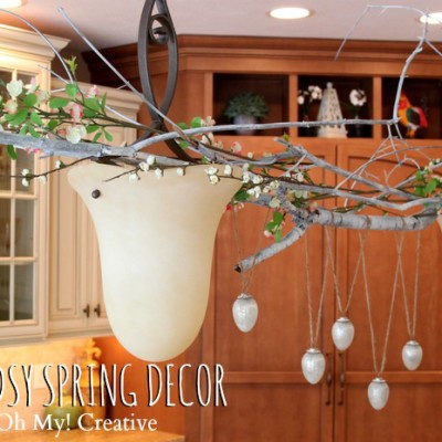 Woodsy Spring Home Decor