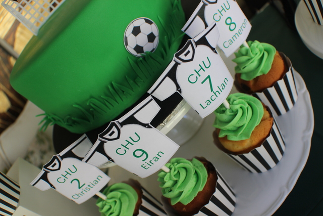 Soccer Graduation Party Theme