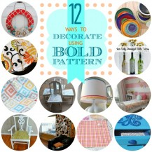 12 Ways-to-decorate-using-bold-patterns - Oh My! Creative.com