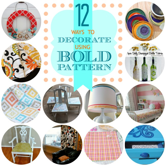 12 Ways to Decorate Using Bold Patterns
