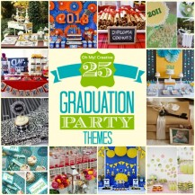 Graduation party themes and printables, Girls Graduation Party Ideas, Boys Graduation Parties Ideas - Oh My! Creative