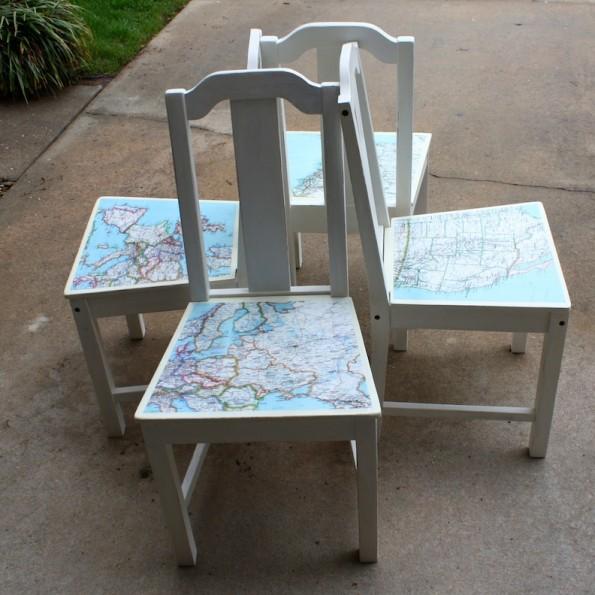 Map-Diningroom-chairs-DIY