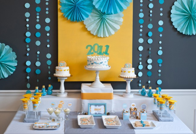 25 awesome graduation party themes and printables girls graduation party ideas boys graduation parties - Graduation Party Decoration Ideas