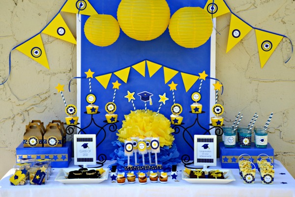 graduation party printables free downloads free party ideas pary supplies dessert table dessserts tables amy atlas