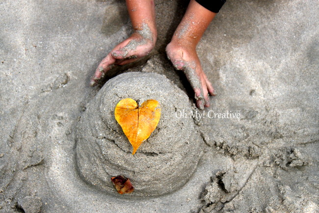 Photo Friday #2 – Sand Castle On The Beach – Made With Love