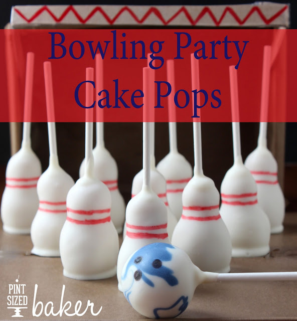 How To Make Bowling Ball Cake Pops