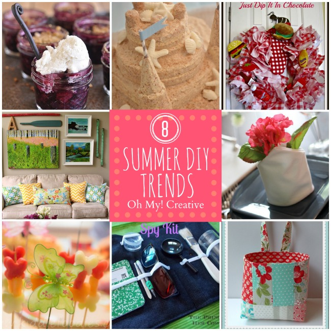 8 Summer DIY Trends – Whimsy Wednesday Features