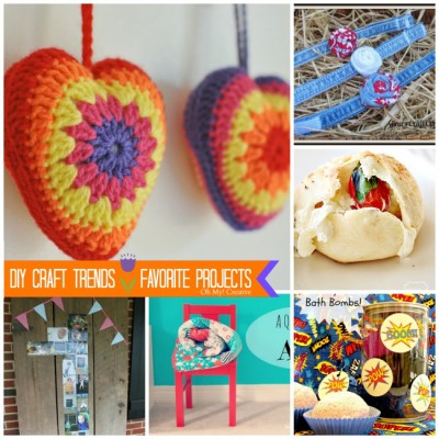 DIY Craft Trends – Favorite Five Projects {Whimsy Wednesday}