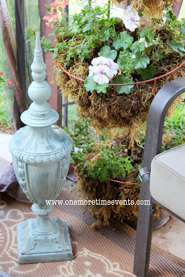 add to your outdoor space using old lamp   oh my creative