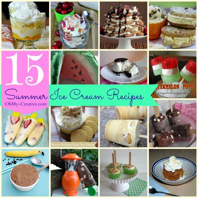 15 Summer Ice Cream Recipes
