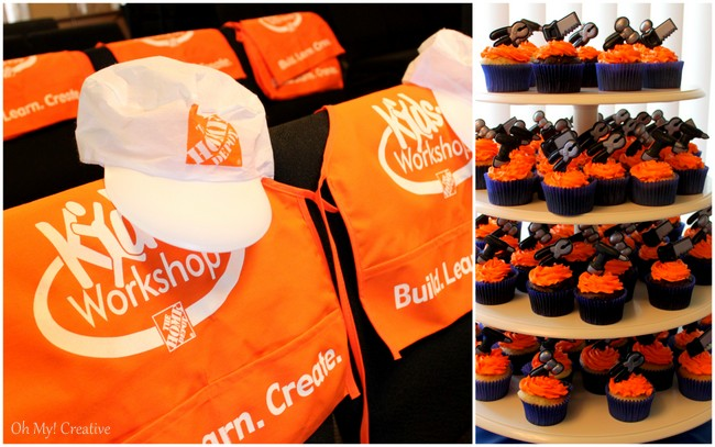 Home Depot Construction Birthday Party