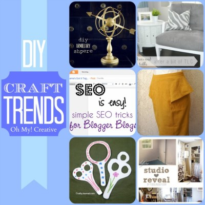 DIY Craft Trends – Favorite Projects {Whimsy Wednesday}