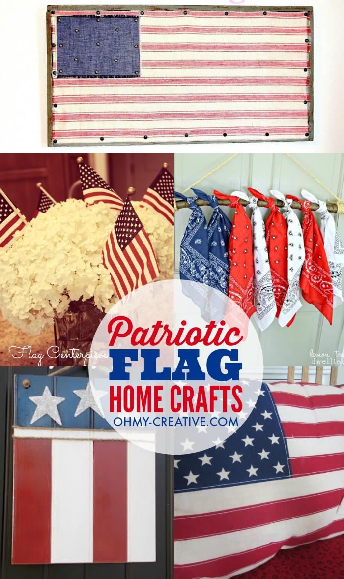 DIY Flag Ideas To Make For The Home