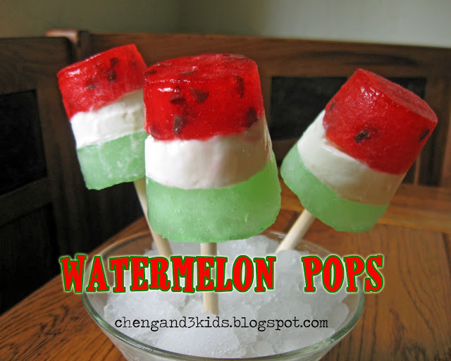 Ice cream Watermelon Pops