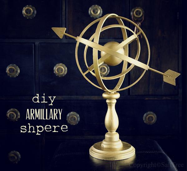 diy armillary sphere
