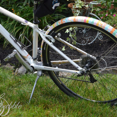 Washi Taped Bike