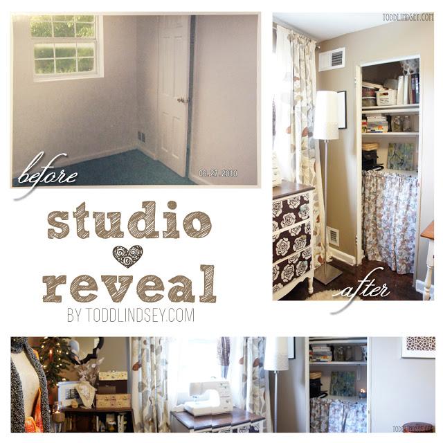 Craft room studio ideas