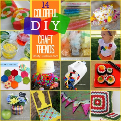 14 Colorful DIY Craft Trends