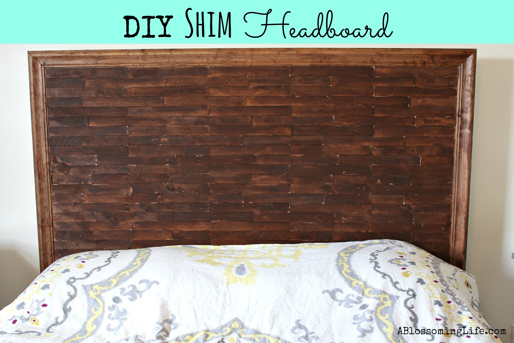 Diy shim headboard oh my creative