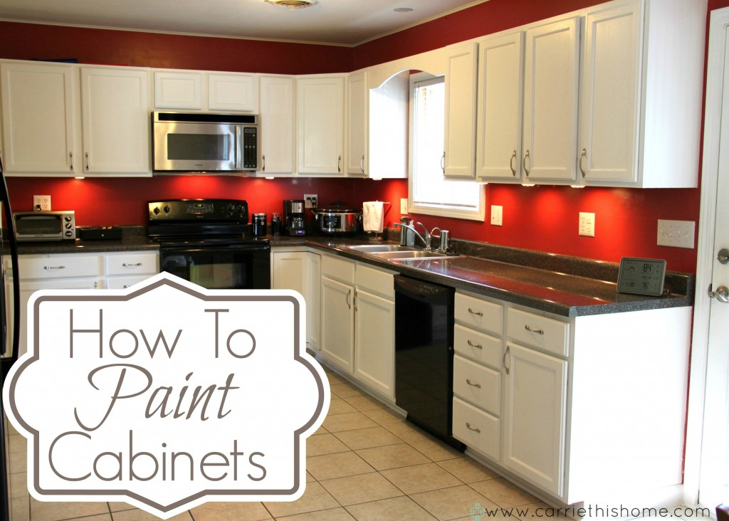 How To Paint Cabinets 1024x732 Oh My Creative