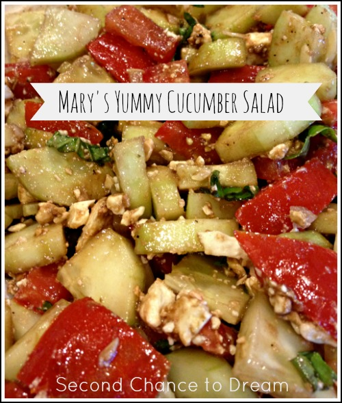 Mary's Yummy Cucumber Salad