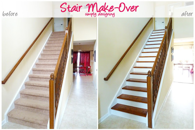 How to paint staircase