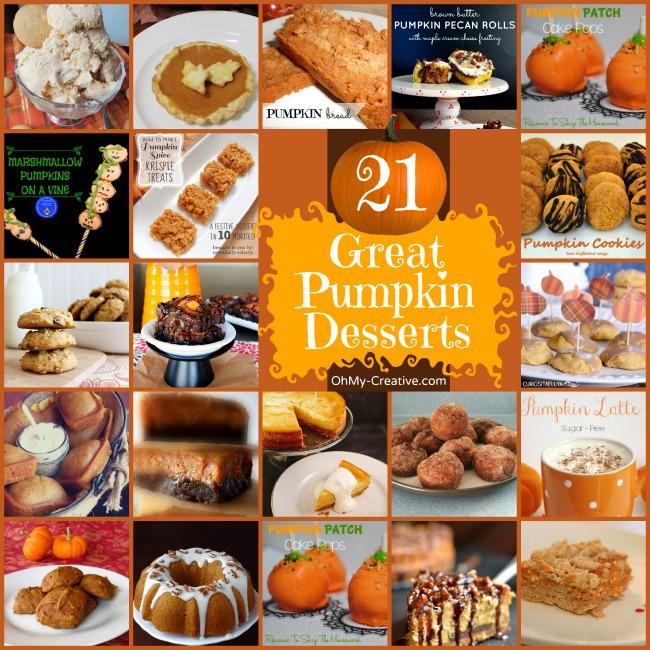 21 Great Pumpkin Desserts