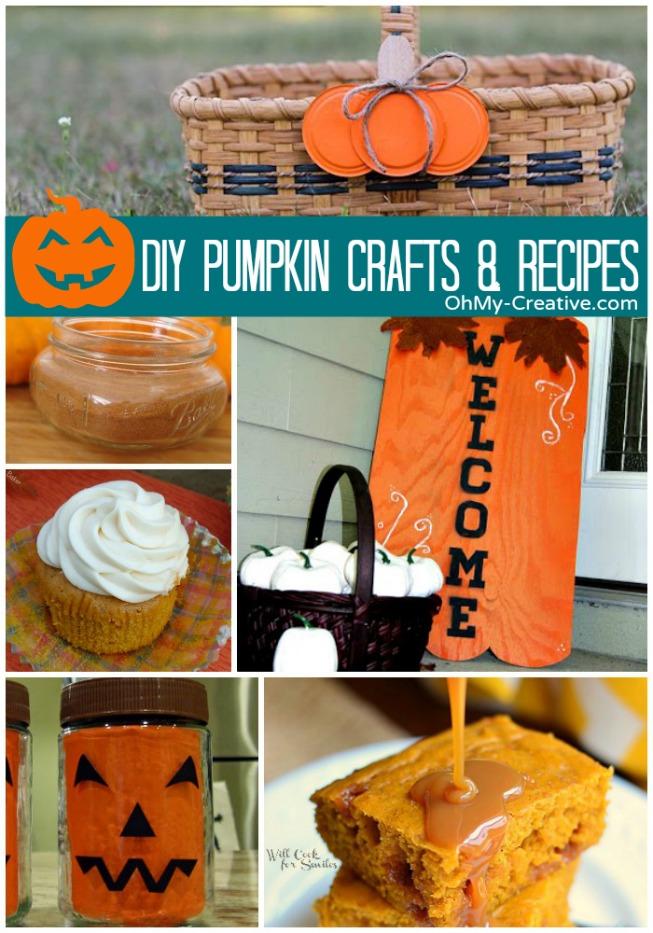 DIY Pumpkin Crafts & Recipes