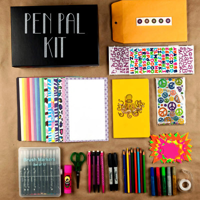 Pen Pal Kit with Free Printables