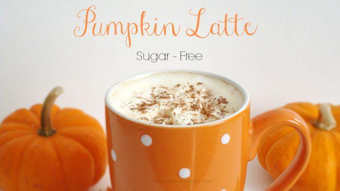 Sugar Free Pumpkin Latte Recipe