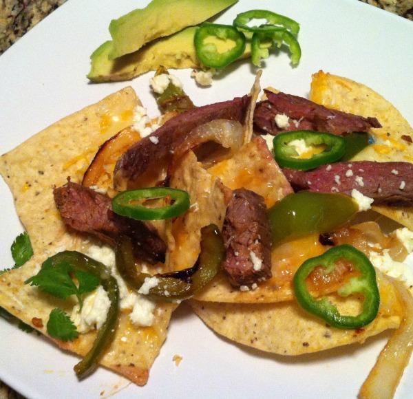 Beef Fajita Nachos Recipe — Dishmaps