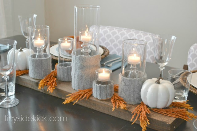 25 fall entertaining ideas oh my creative Modern fall table decorations