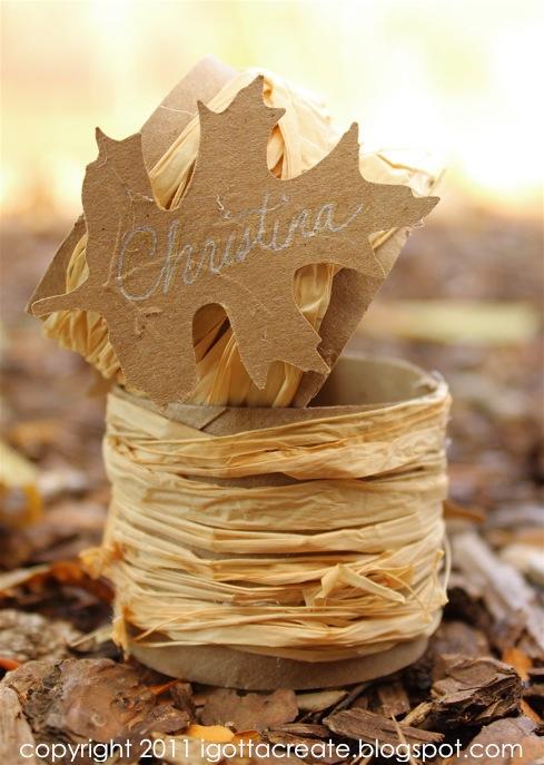 Fall Leaf Napkin Ring