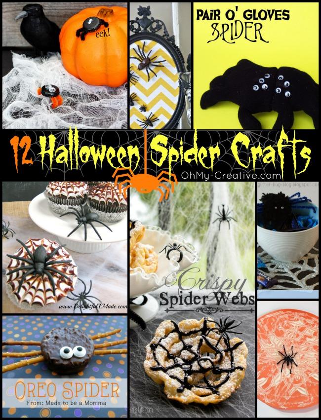 12 Halloween Spider Craft Ideas