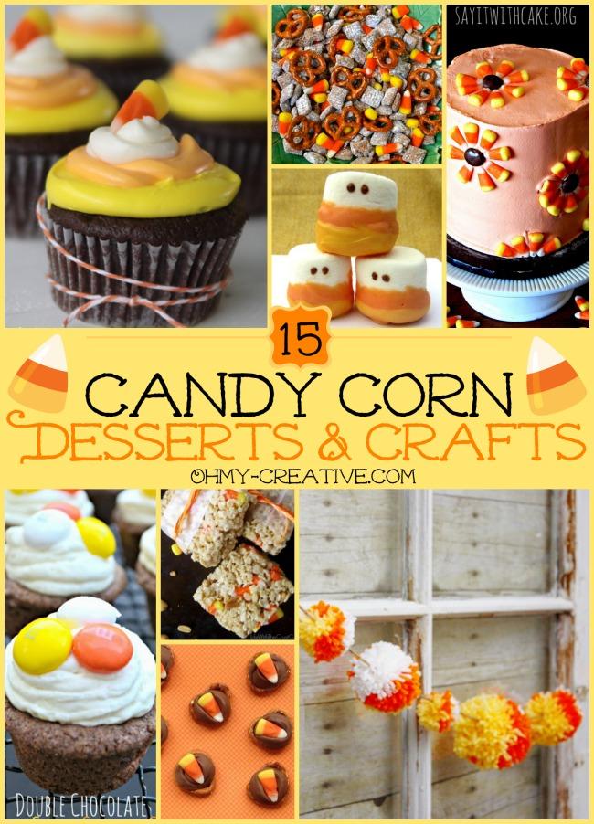 15 Candy Corn Desserts Amp Crafts Oh My Creative
