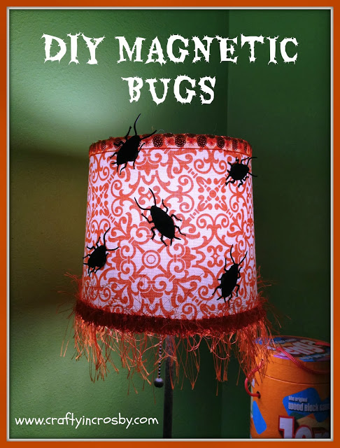 Halloween Magnetic Bug Decoration