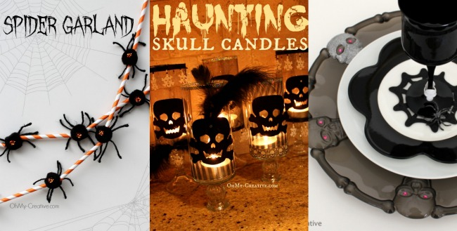 Halloween Home Crafts - OhMy-Creative.com