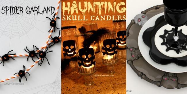Halloween Home Crafts - OhMy-Creative.com
