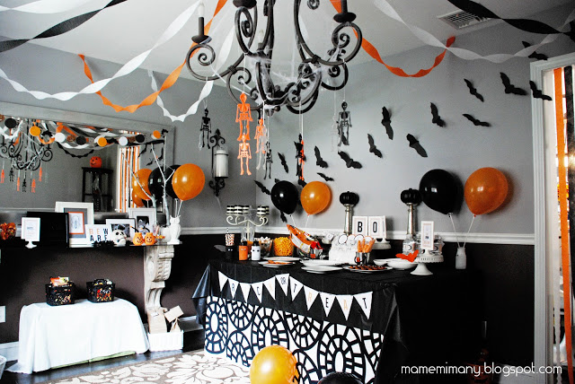 halloween party decorations mamemima - Halloween Theme Decorations