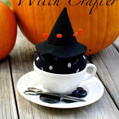 Witch Pin Cushion