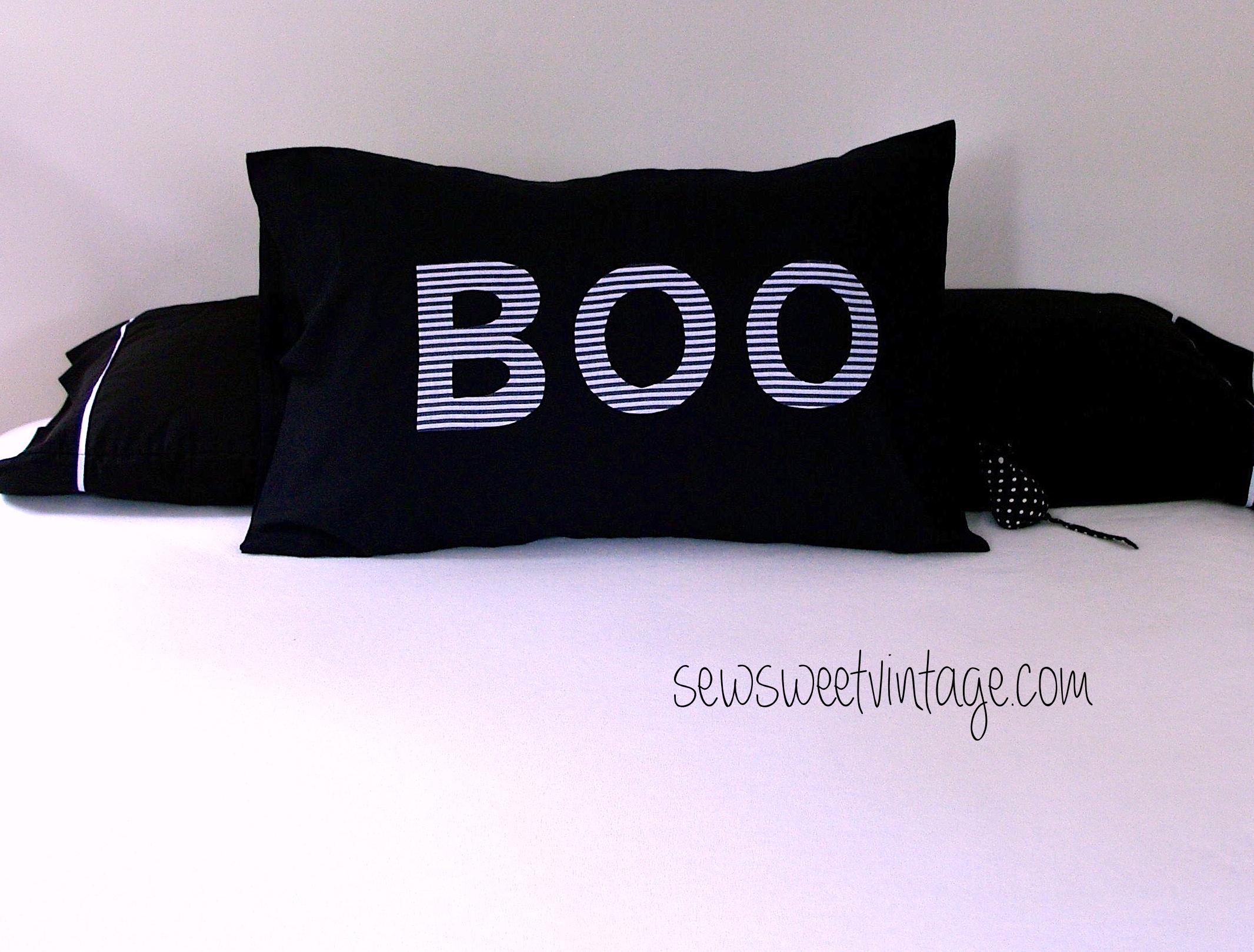 Boo pillowcase