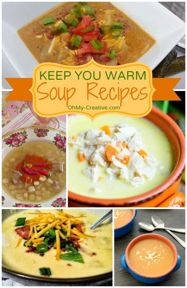 Keep You Warm Soup Recipes