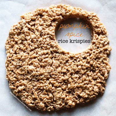 Pumpkin Spice Chai Rice Krispie Treats