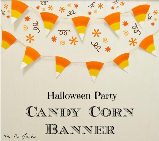 Candy Corn Banner 15 Candy Corn Desserts & Crafts - OhMy-Creative.com   Candy Corn Cupcakes   Candy Corn Desserts   Candy Corn Crafts   Halloween Rice Krispie Treats   Halloween Treats   Candy Corn Marshmallows   Candy Corn Recipe