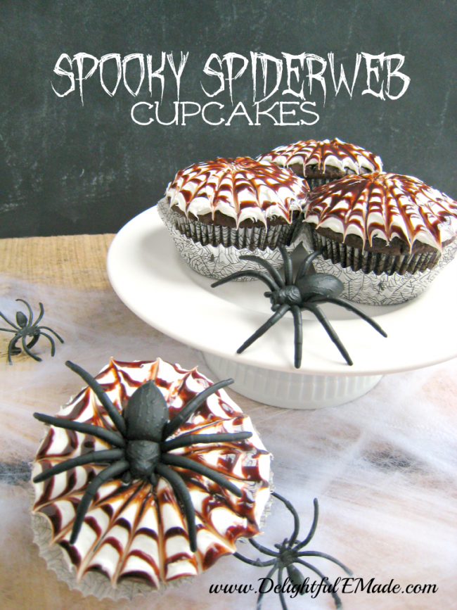 Spooky-Spiderweb-Cupcakes-by-Delightful-E-Made-