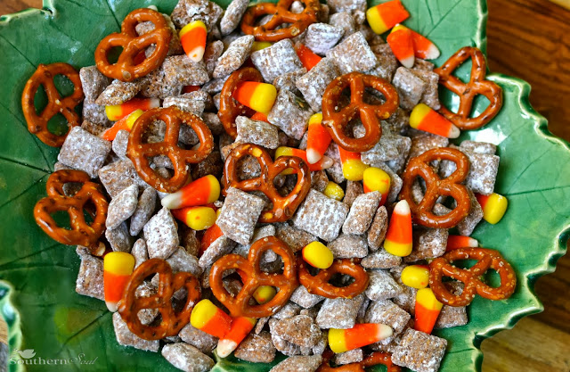 candy corn pretzel snack mix