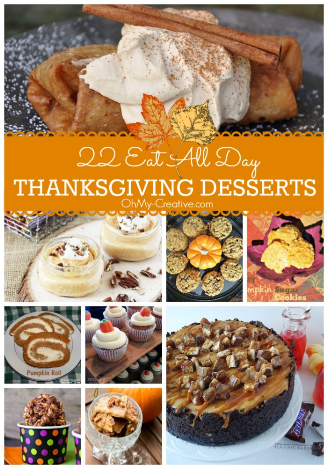 25+ Delicious Thanksgiving Dessert Ideas For The Family