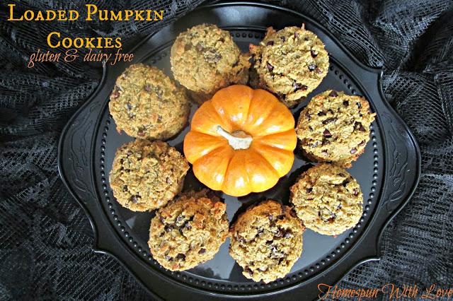 Loaded Pumpkin Cookies